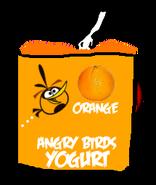 Angry Birds Orange Yogurt