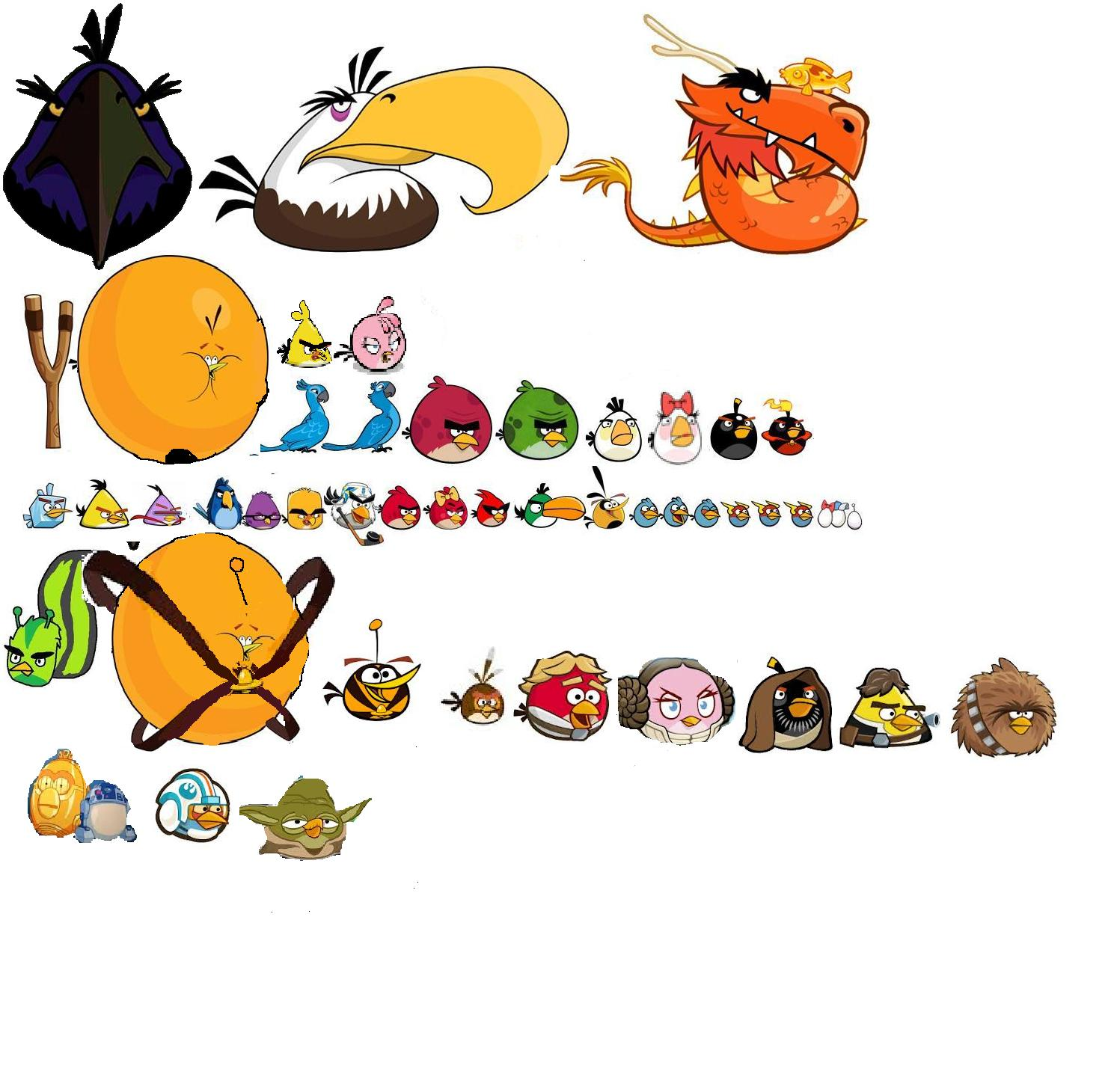 how to draw angry birds star wars 2 all characters