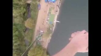 The Most British Bungee Jump Ever.