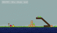 Angry Birds - Level 22-5 - Rainy Days
