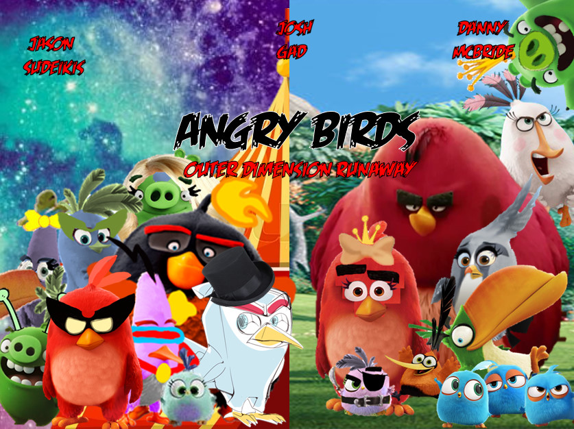 Angry Birds Movie Outer Dimension Runaway Angry Birds Fanon Wiki