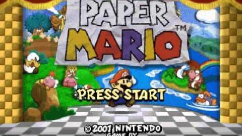 Paper Mario 64 Music Jr