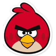 Red Cut Bird