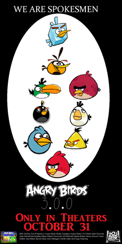 Angry Birds 3.0.0 Poster