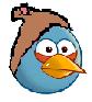 Young peasant bird
