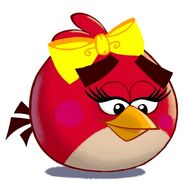 Angry Birds Toons Character Ruby girl Redbird - 1
