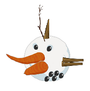 Snow of the snorks special inflated orange bird