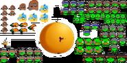 Angry Birds Bubbles Spritesheet