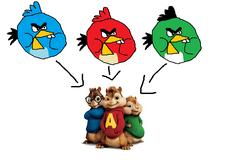 Chipmunk Birds + Chipmunks