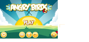 Angry birds x start