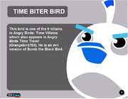 Time Biter Bird Toy Care