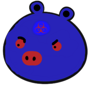 Hazardous pig