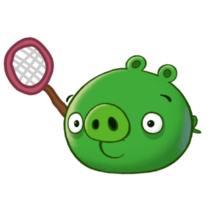 Bug-Catching Pig