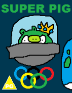 Super Pig DVD Cover Olympic Special
