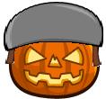 Helmet Pumpkin