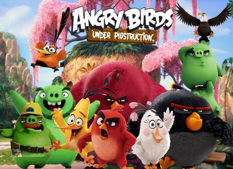 AngryBirdsUP Poster