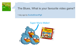 Whats The Blues's Favourite Video Game