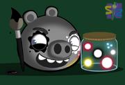 The evil pig