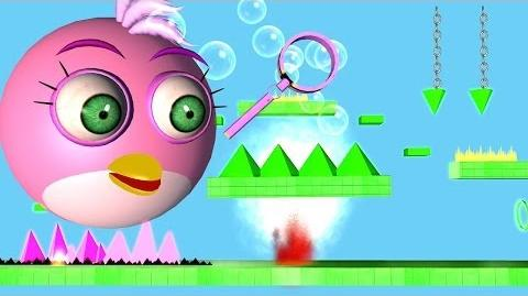 Angry Birds: Geometry Dash