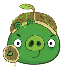 Spikey Sield Pig (forest)