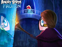 Angry birds frozen poster -4