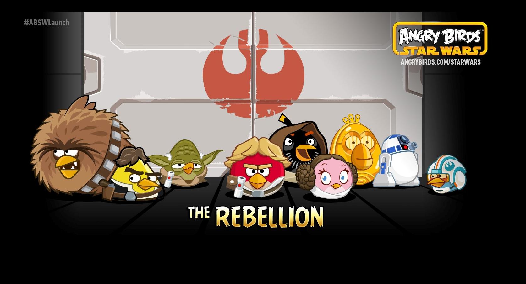 Dibujos Para Colorear De Angry Birds Star Wars 2