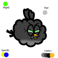 Angry Cloudifer Color Palette
