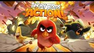 Angry Birds Action Mighty Eagle Mountain Theme