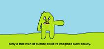 Only A True Man of Culture Meme