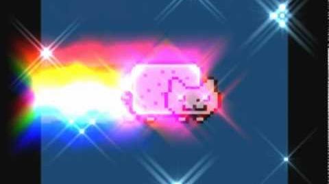 Nyan cat Nuclear power = MEGA HIT!