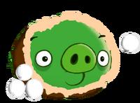 Snowball Thrower Pig