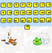 Snow of the snorks level selection