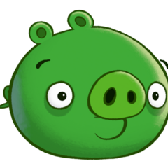 A Minion Pig as it appears in the game.