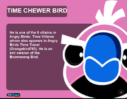 Time Chewer Bird ToyCare