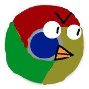 Space Chrome Bird