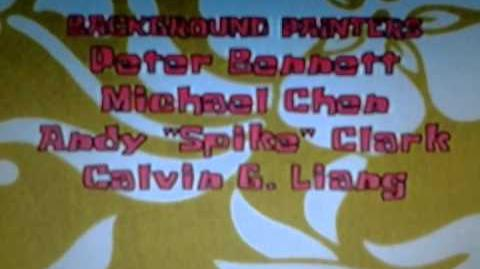 SpongeBob Credits The Fry Cook Games