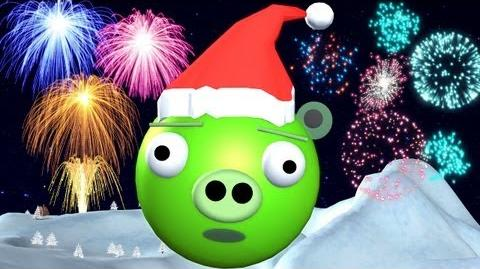 BAD PIGGIES at X-MAS & NEW YEAR ♫ 3D animated ANGRY BIRDS spoof ☺ FunVideoTV - Style ;-))-0