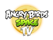 New Angry Birds Space TV Logo
