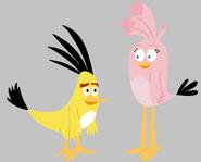 Angry Birds La Pelicula - Chuck y Stella