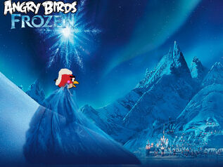Angry Birds Frozen Poster -5