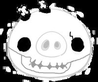 Skeleton Pig