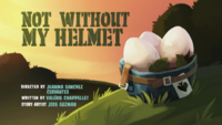Not Without My Helmet