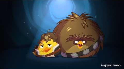 Angry Birds Star Wars Han Solo and Chewie-0
