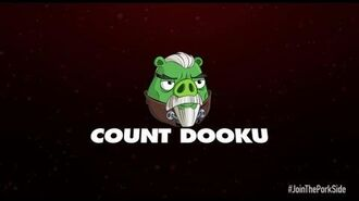 Angry Birds Star Wars 2 character reveals- Count Dooku