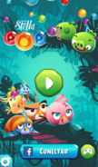 Angry Birds Stella POP Tela Inicial