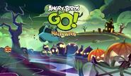 Angry Birds Go! - Tela de Carregamento - Especial de Halloween