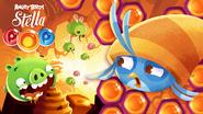Angry Birds POP! - Poster Mel e Abelhas 01