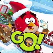 Angry Birds Go Icone de Natal