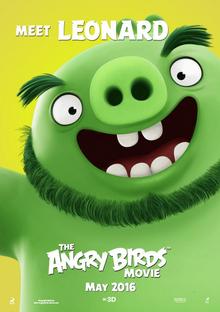 The Angry Birds Movie - Poster Meet Leonard