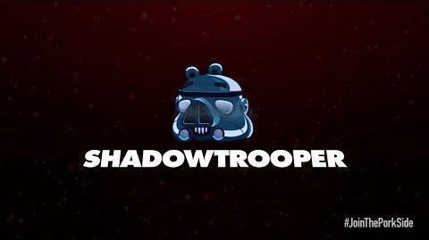 Angry Birds Star Wars II Shadowtrooper